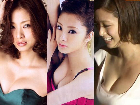 【巨乳】上戸彩(28)が披露してきた極上の巨乳画...