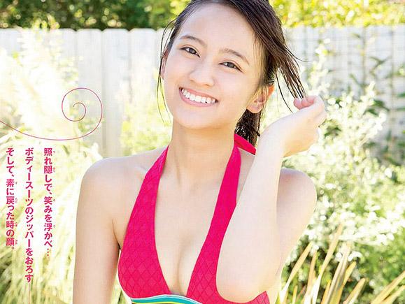 ますおか岡田の美少女すぎる娘・岡田結実(16)が初水着グラビア!