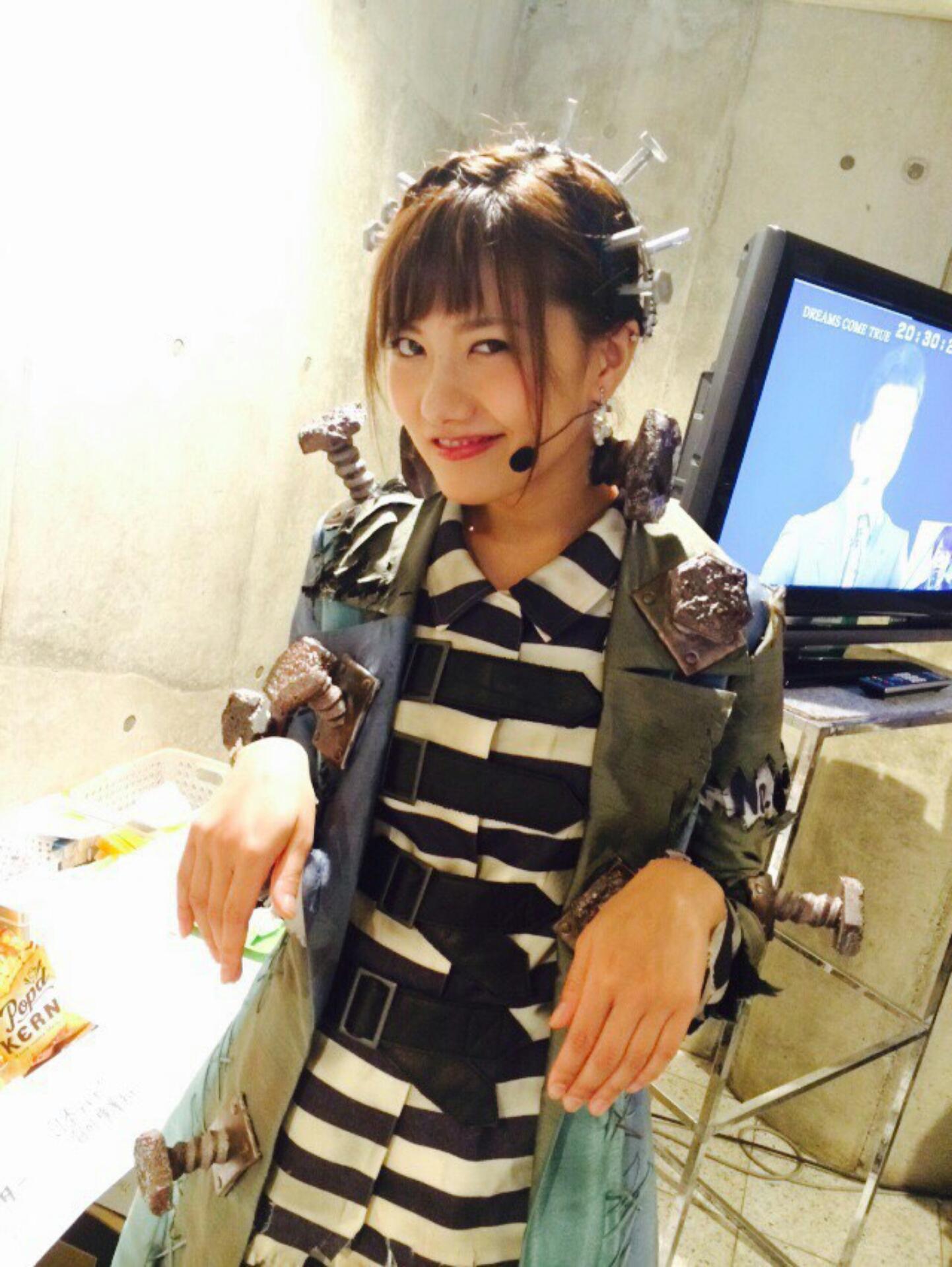 フランケンシュタインに扮しニヤッと微笑むAKB48時代の宮澤佐江