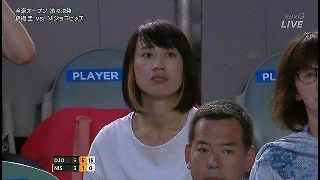 【テニス】<錦織圭>噂の彼女が「ファミリーボックス」デビュー!©2ch.netYouTube動画>2本 ->画像>74枚