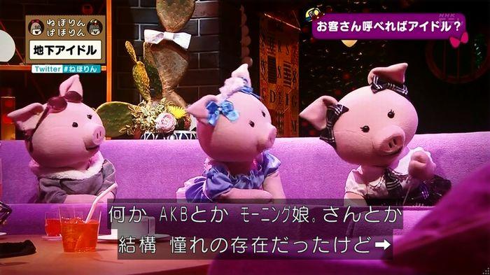 ねほりん 地下アイドル回のキャプ255