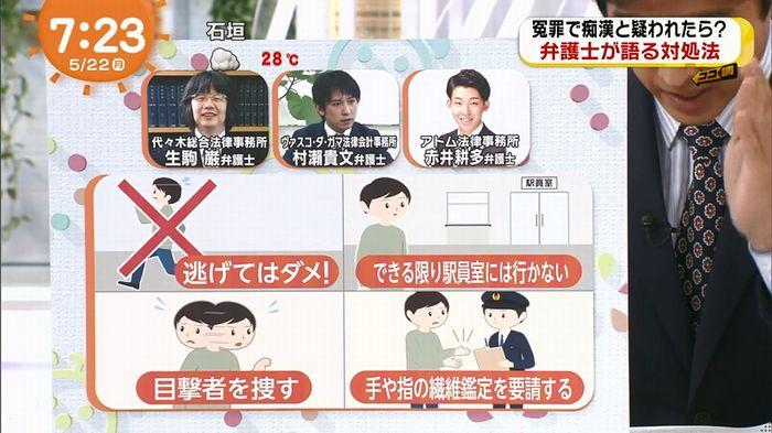 めざましTV 痴漢のキャプ92