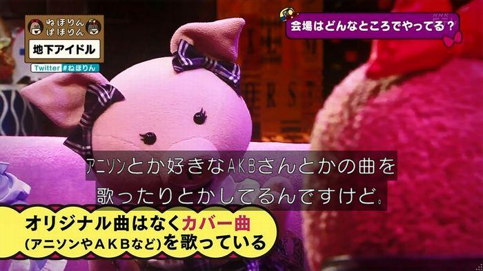 ねほりん 地下アイドル回のキャプ82