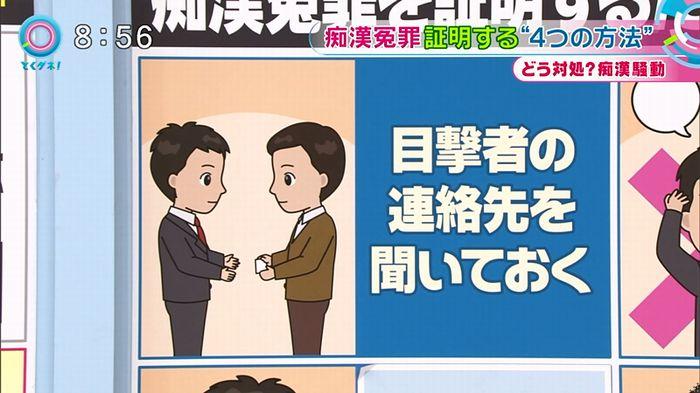 とくダネ! 平井駅痴漢のキャプ60