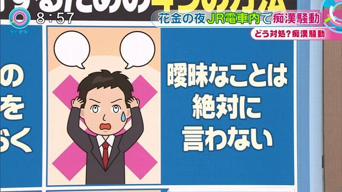 とくダネ! 平井駅痴漢のキャプ63