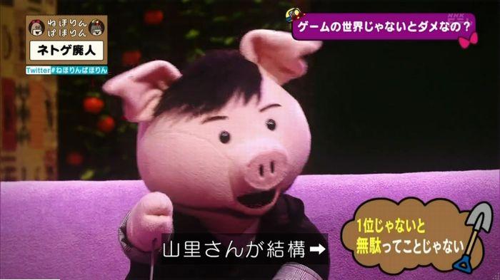 ねほりんネトゲ廃人のキャプ409