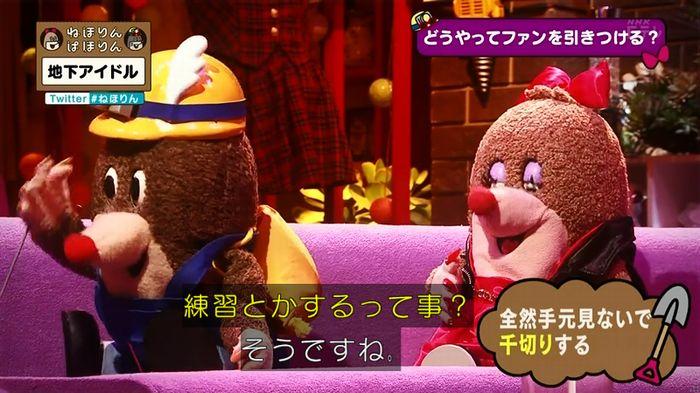 ねほりん 地下アイドル回のキャプ426