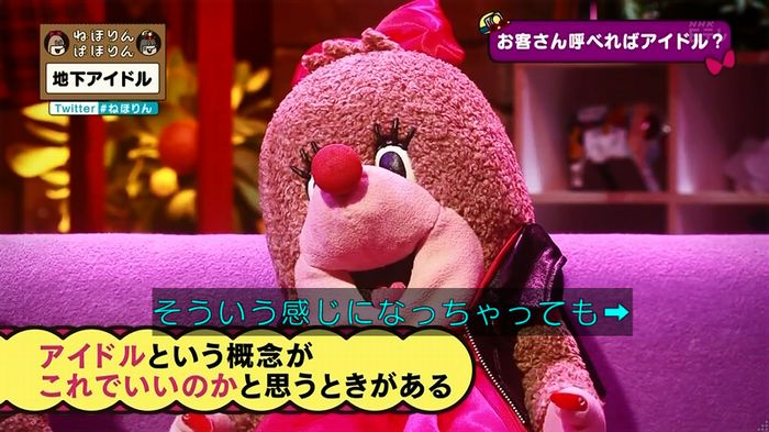 ねほりん 地下アイドル回のキャプ258