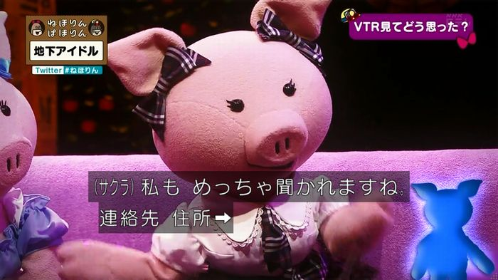 ねほりん 地下アイドル後編のキャプ76