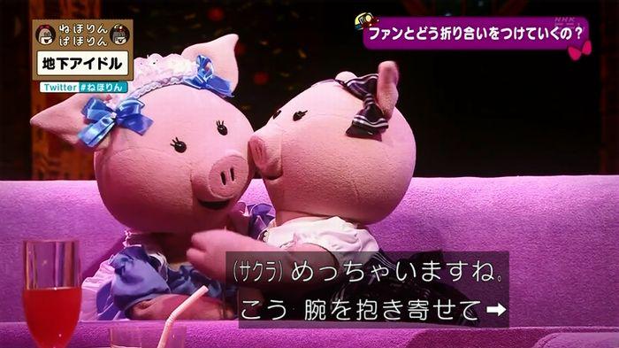 ねほりん 地下アイドル後編のキャプ274