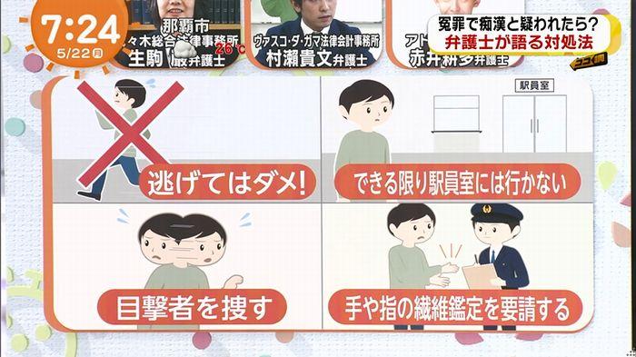 めざましTV 痴漢のキャプ93