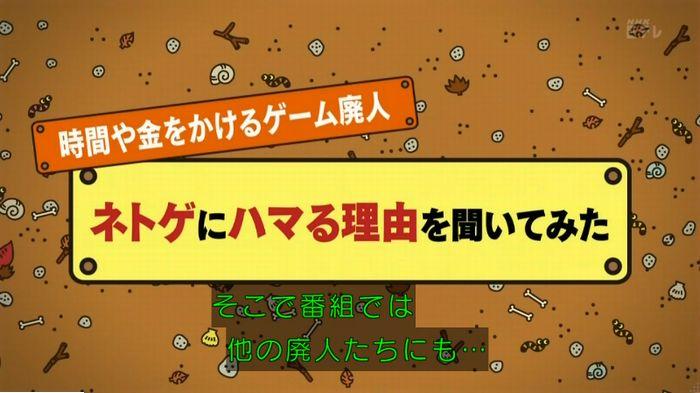 ねほりんネトゲ廃人のキャプ336