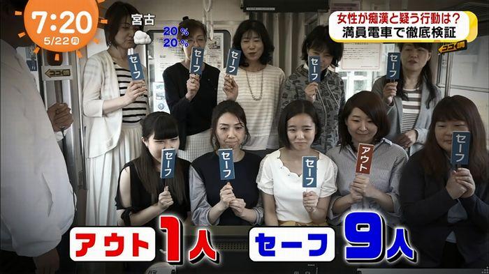 めざましTV 痴漢のキャプ62