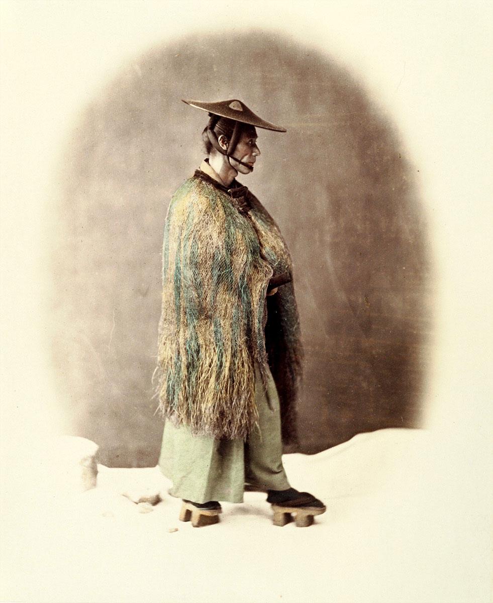 江戸時代の男性