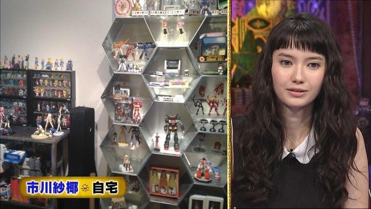 超美人ハーフモデル市川紗椰のガチオタぶりが凄い!