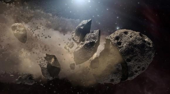 「小惑星 衝突」の画像検索結果