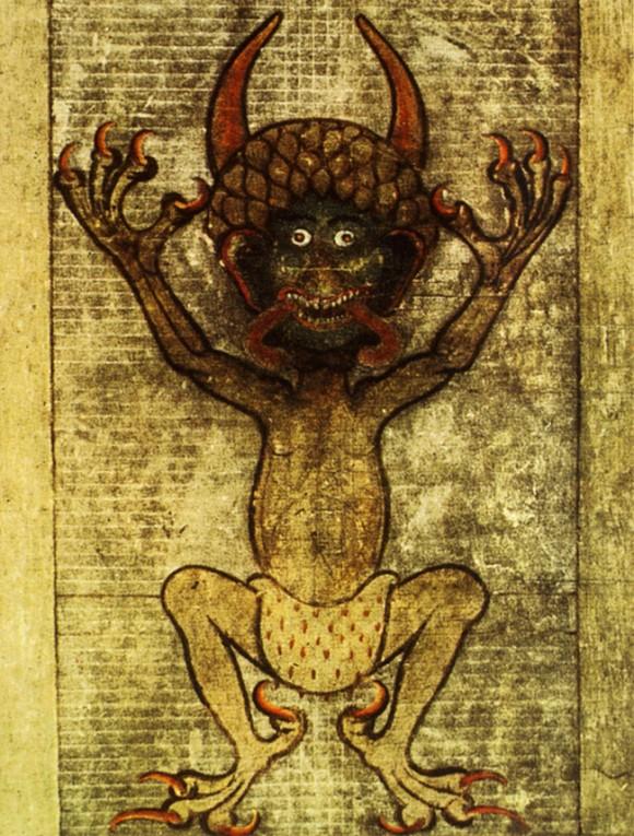 悪魔の絵画ギガス写本