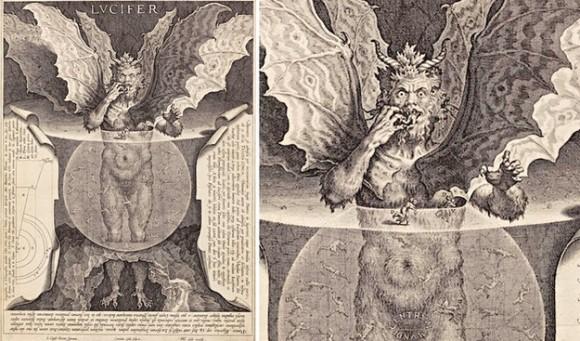 悪魔の絵画ルシファー