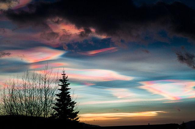 極成層圏雲(Polar stratospheric...