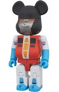 BE@RBRICK × TRANSFORMERS STARSCREAM